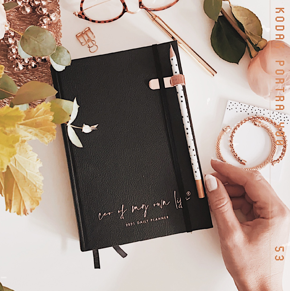 2021 CEO of My Own Life Daily Planner | Black Limited Edition | Office