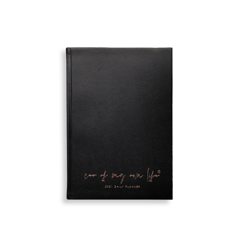 Imperfect | 2021 Daily Planner | CEO of My Own Life® | Black Limited Edition