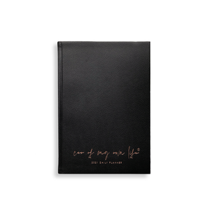 Load image into Gallery viewer, 2021 CEO of My Own Life Daily Planner | Black Limited Edition