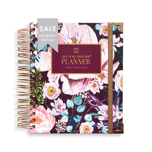 Imperfect | 2021 Daily Planner | CEO of My Own Life® | Floral