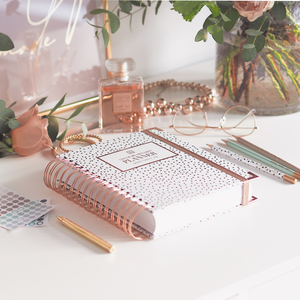 Ella Iconic 2021 CEO of My Own Life Daily Planner | Polka Dot Lifestyle 2