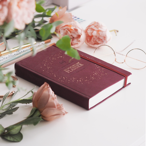 2021 CEO of My Own Life Weekly Planner | Burgundy in the Office
