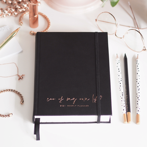 2021 CEO of My Own Life Weekly Planner | Classic Black Limited Edition Lifestyle