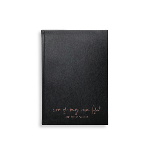 2021 CEO of My Own Life Weekly Planner | Classic Black Limited Edition