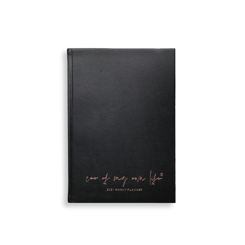 Ella Iconic 2021 CEO of My Own Life Weekly Planner | Books to Read Page