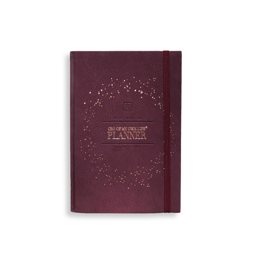 Best Second Life Viewer 2021 2021 Weekly Planner | CEO of My Own Life® | Burgundy – Ella Iconic