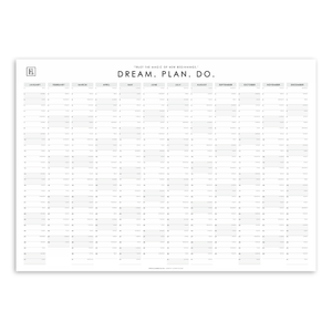 Load image into Gallery viewer, Ella Iconic 2021 A2 Wall Calendar | Dream. Plan. Do