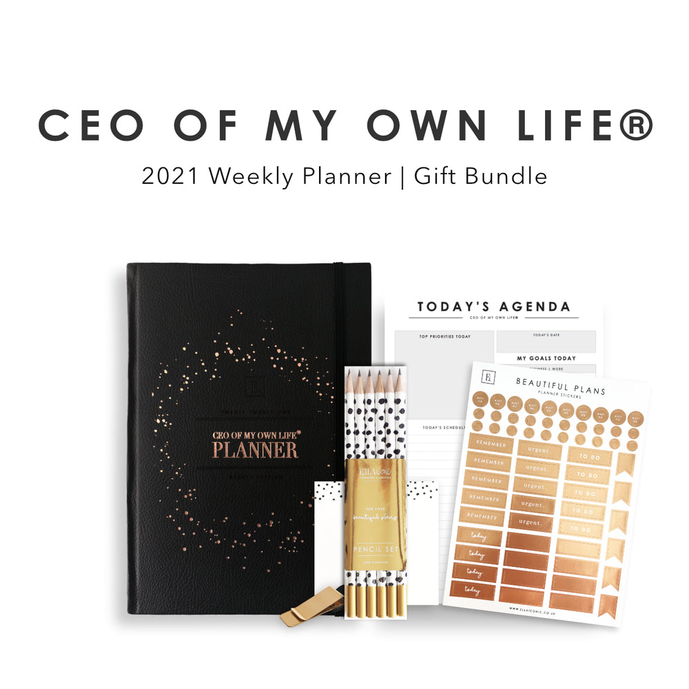 CEO of My Own Life® | 2021 Weekly Planner Gift Set
