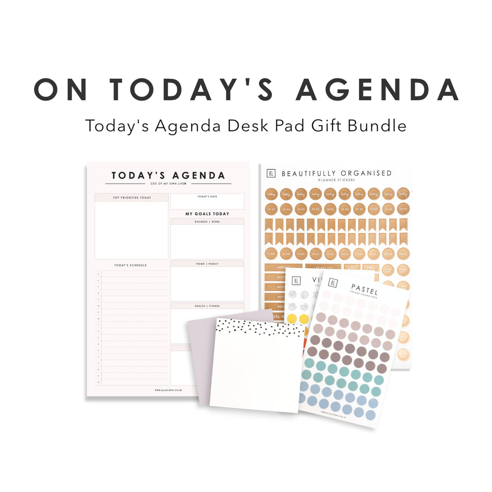 On Today's Agenda Gift Bundle