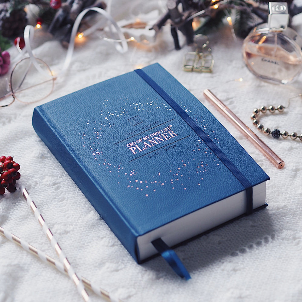 2019 Daily | CEO OF MY OWN LIFE® Planner | Midnight Blue