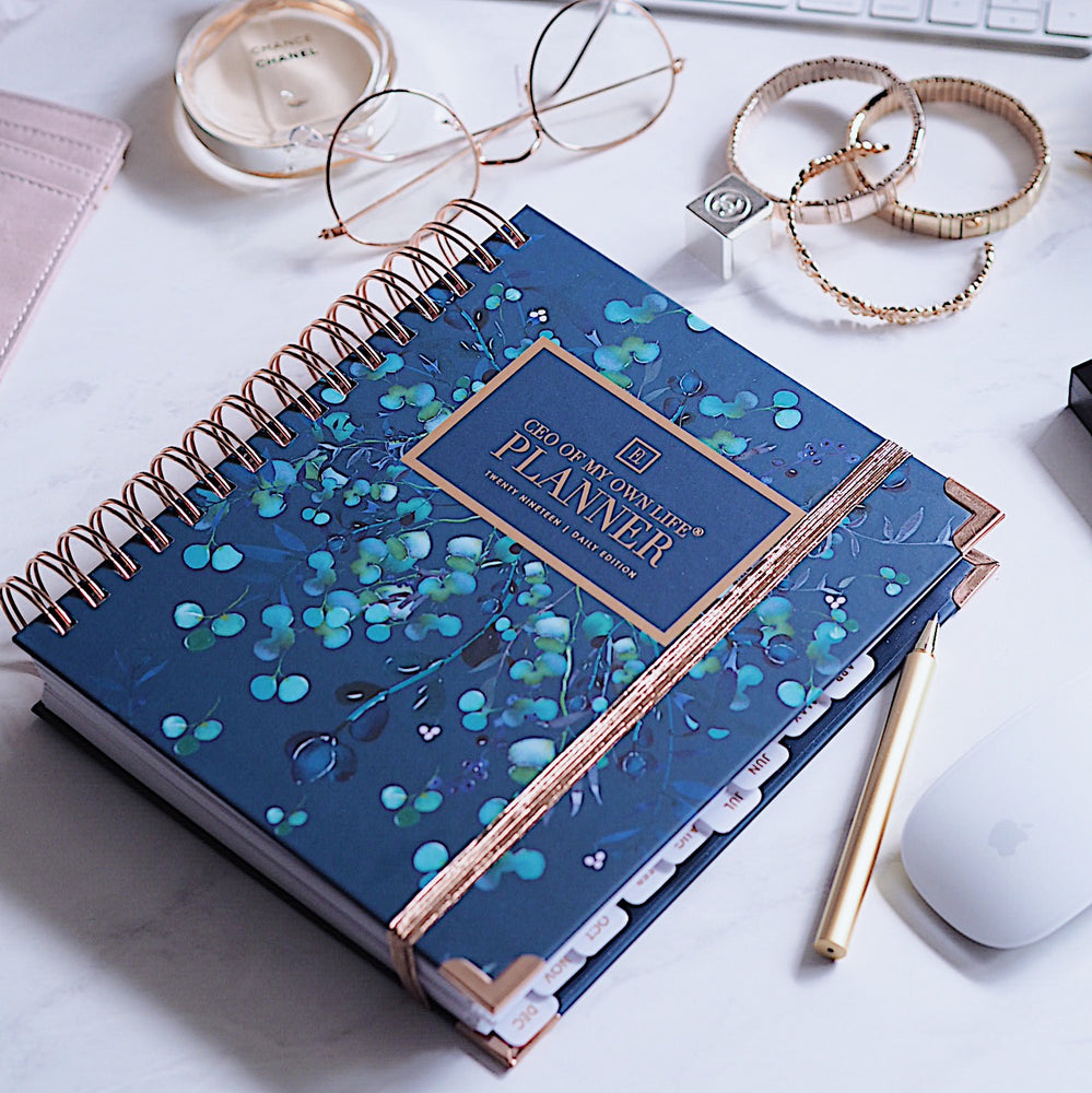 2019 Daily | CEO OF MY OWN LIFE® Planner | Foliage