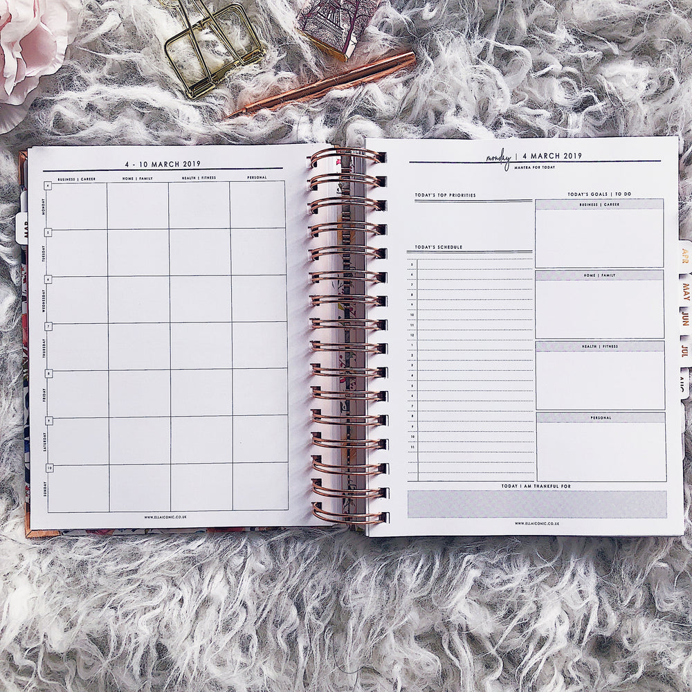 2019 Daily | CEO OF MY OWN LIFE® Planner | Diamond