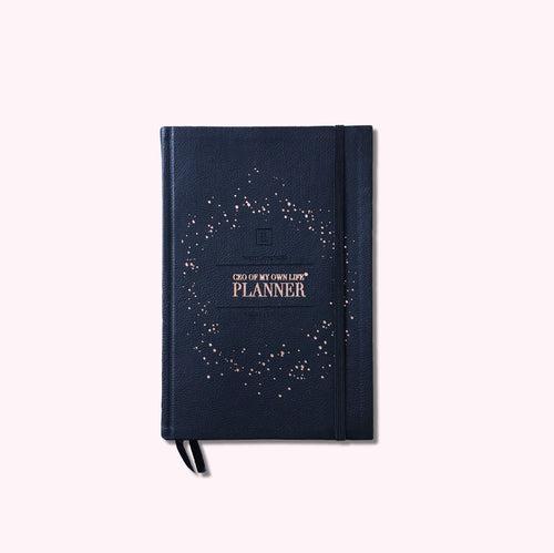 CEO OF MY OWN LIFE® Planner | Undated Weekly | Classic Black
