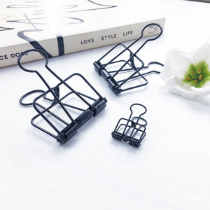 Skeleton Binder Clips | BLACK