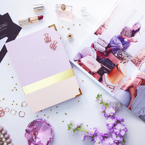 2017 CEO OF MY OWN LIFE™ Planner in | Blush & Champagne |
