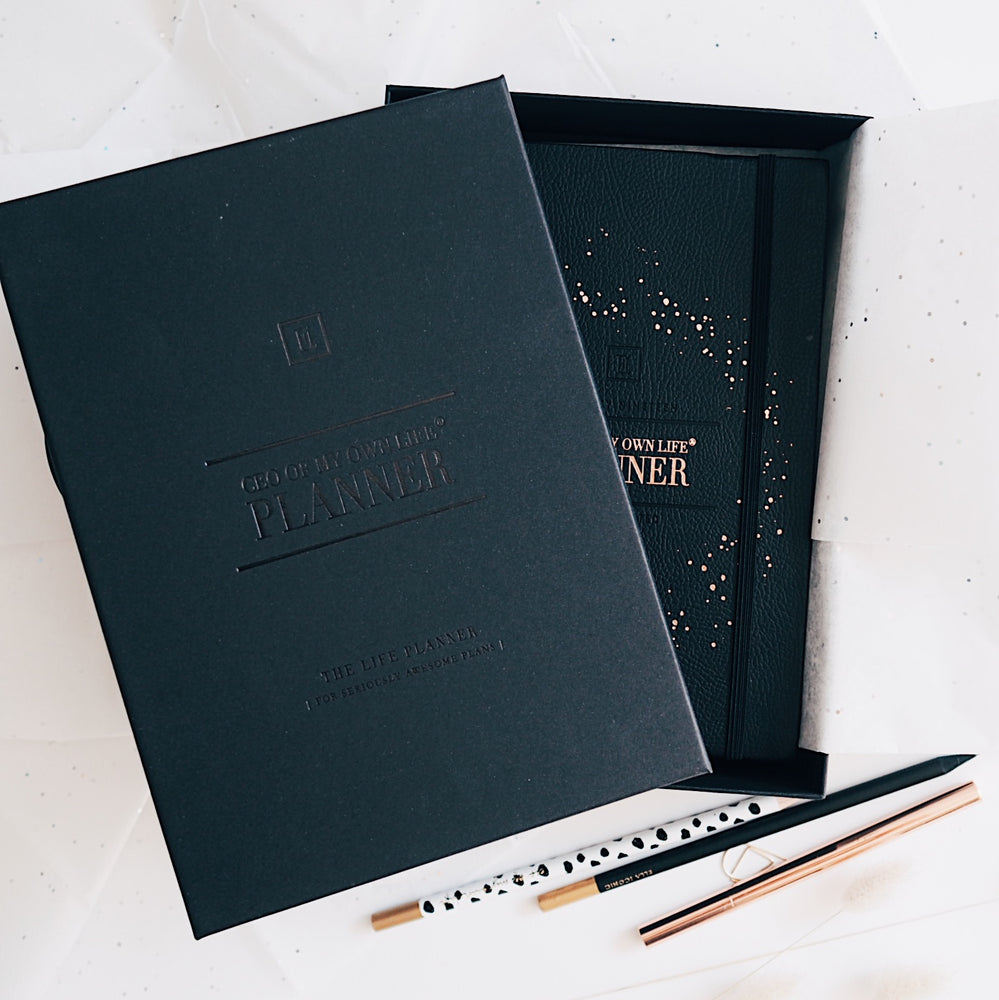 2020 Daily | CEO OF MY OWN LIFE® Planner | Classic Black