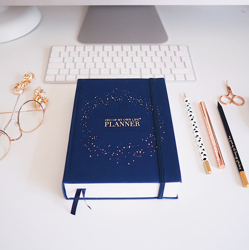 2020 Daily | CEO OF MY OWN LIFE® Planner | Midnight Blue