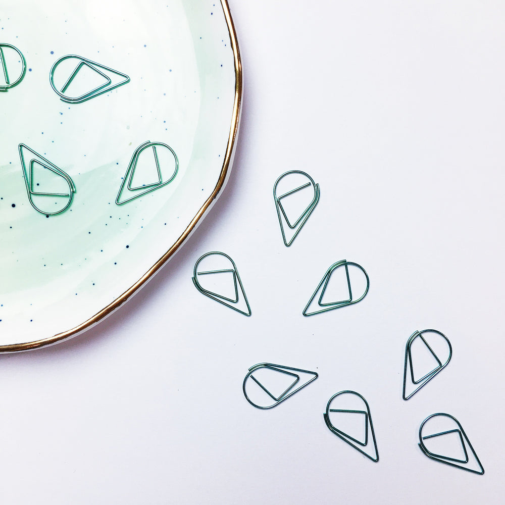 Teardrop Paperclips | MINT