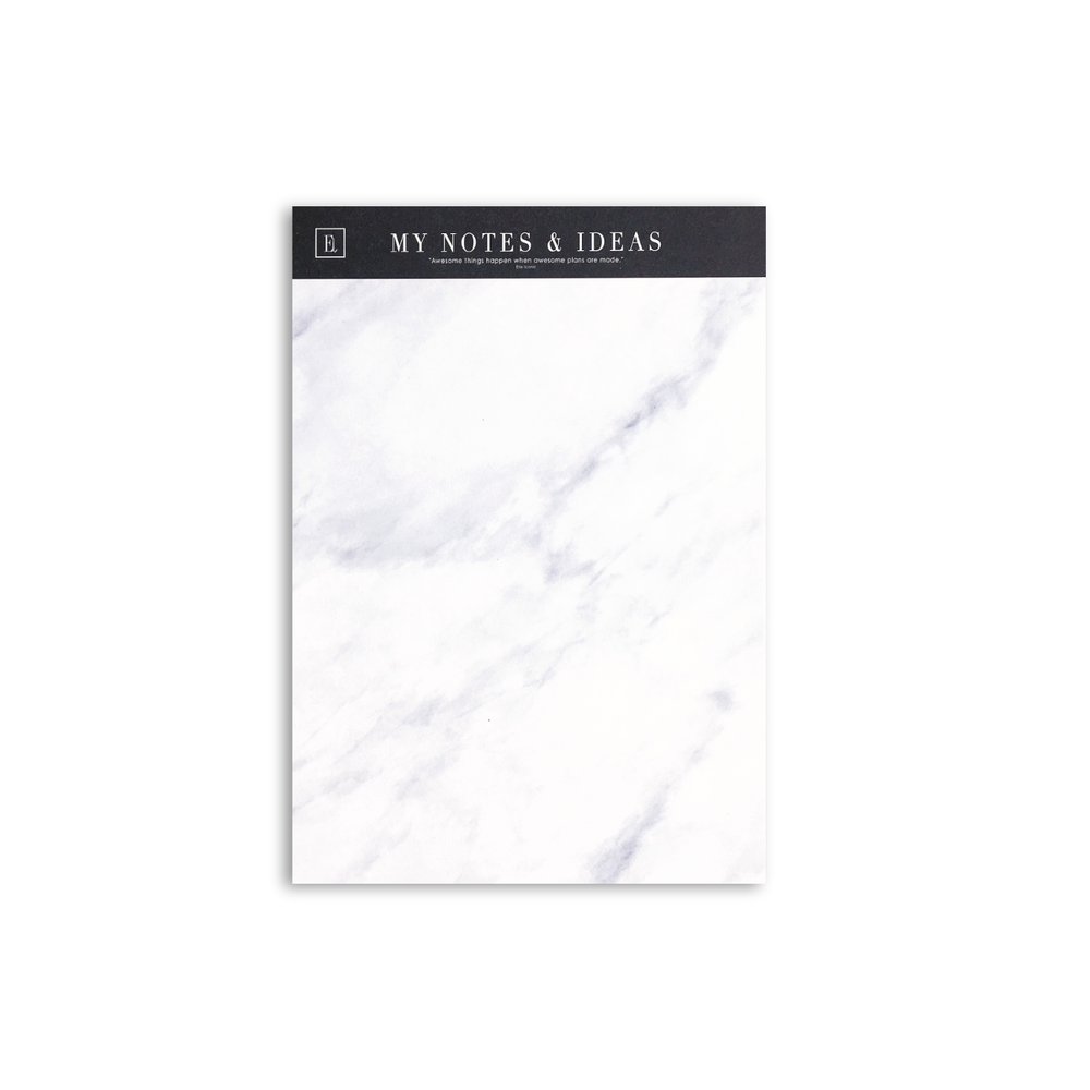 A5 Marble Notepad