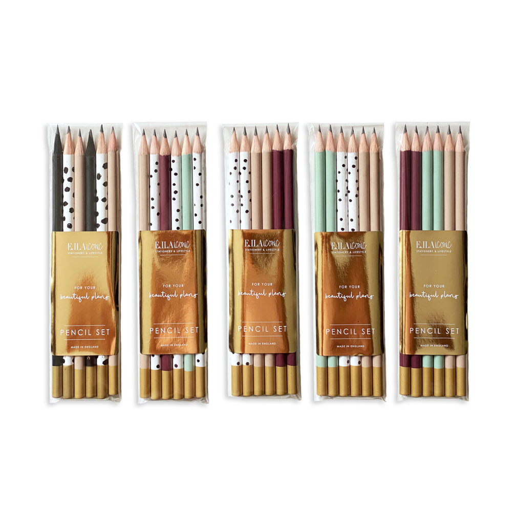 Motivational Luxury Pencil Sets | Assorted