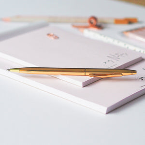 Load image into Gallery viewer, Ella Iconic Gold Ballpoint Pen