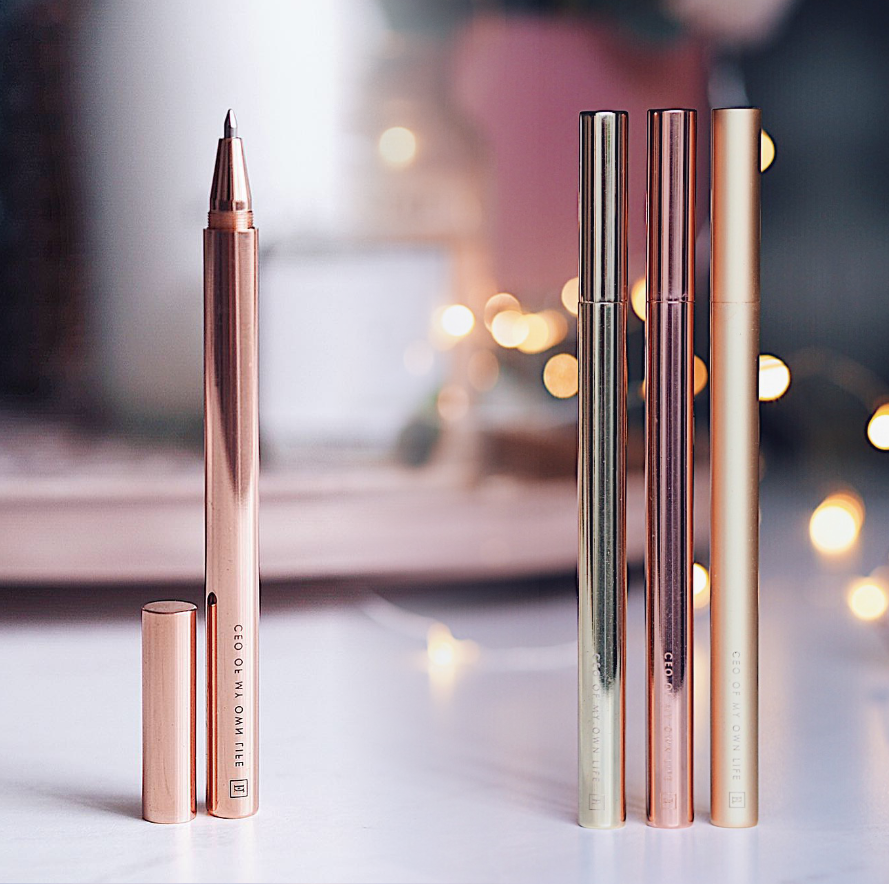 Load image into Gallery viewer, Rose Gold Brass Pen