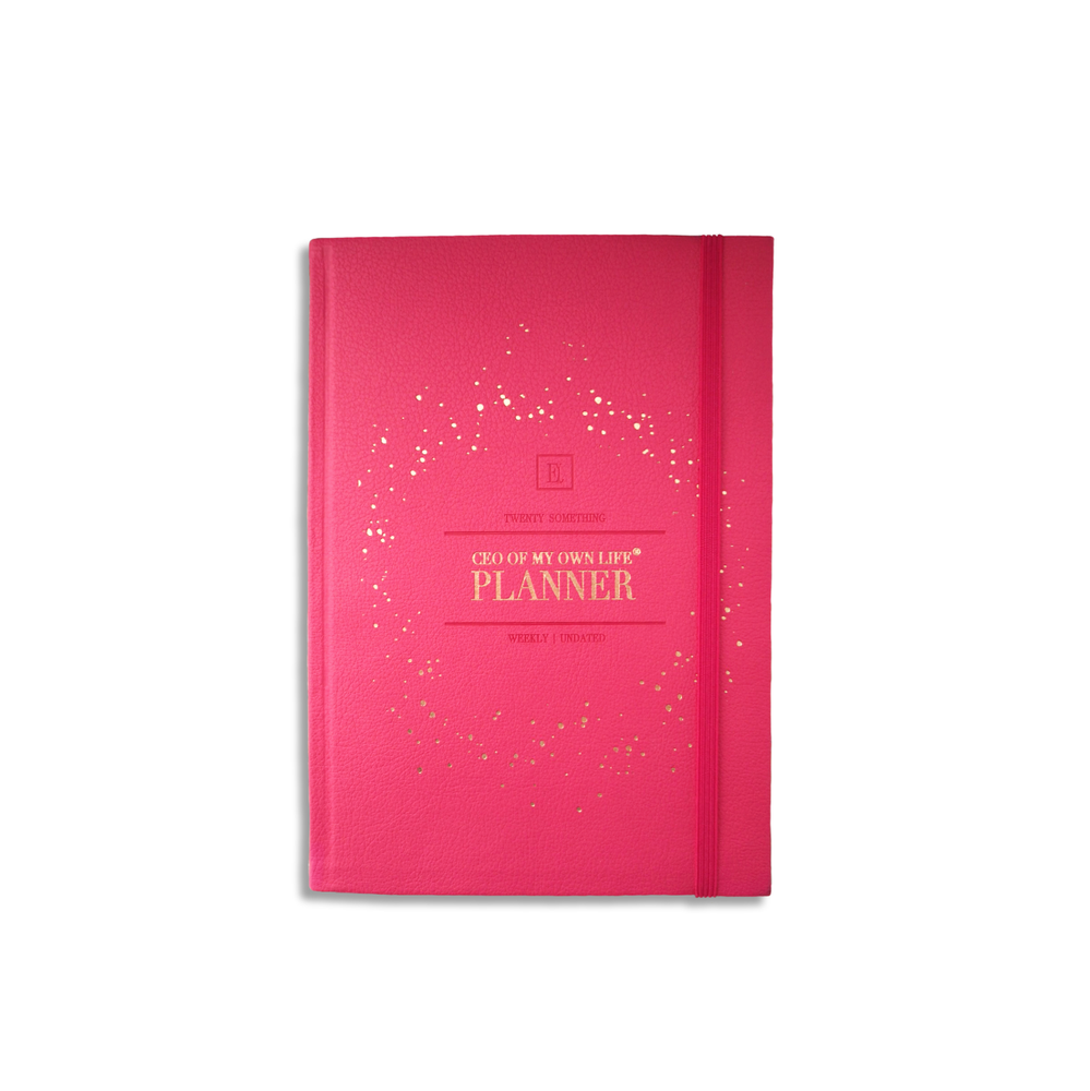 Undated Weekly CEO of My Own Life® Planner | Peony Pink