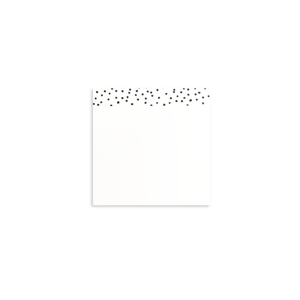 Polka Dot Sticky Post It® Note Pad