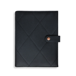 Luxury Vegan Leather A5 Personal Planner Organiser | Black