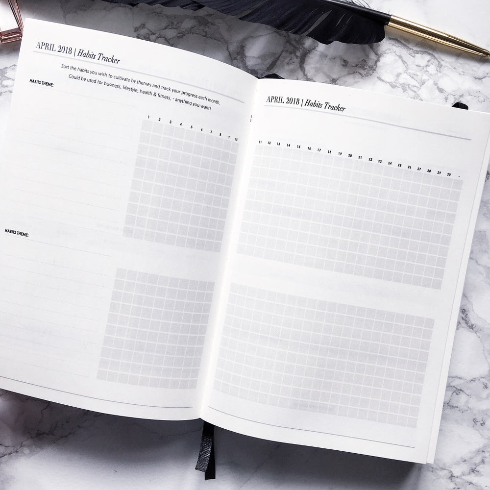 2018 Daily | CEO OF MY OWN LIFE® Planner | Black