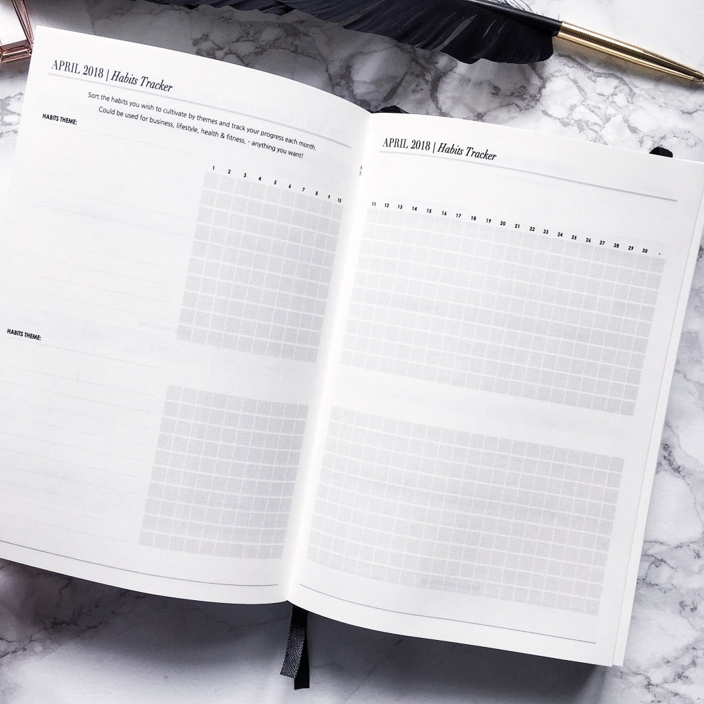 2018 Daily | CEO OF MY OWN LIFE® Planners | Two are better than one!