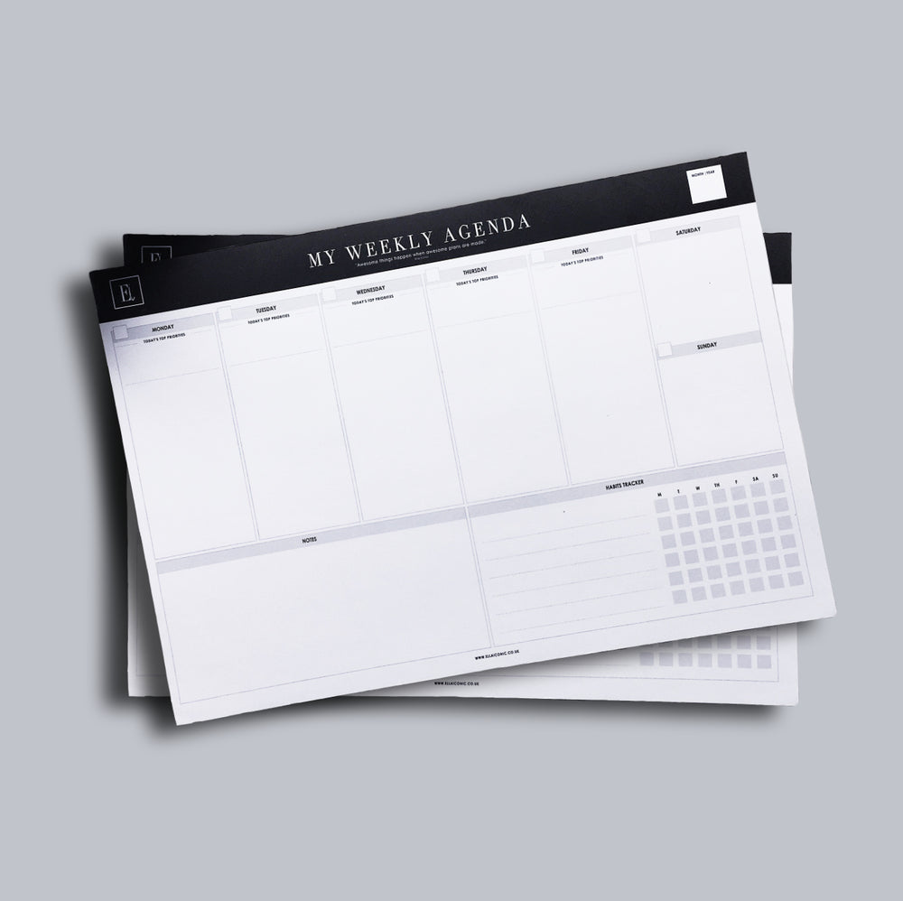 My Weekly Agenda | Notepad