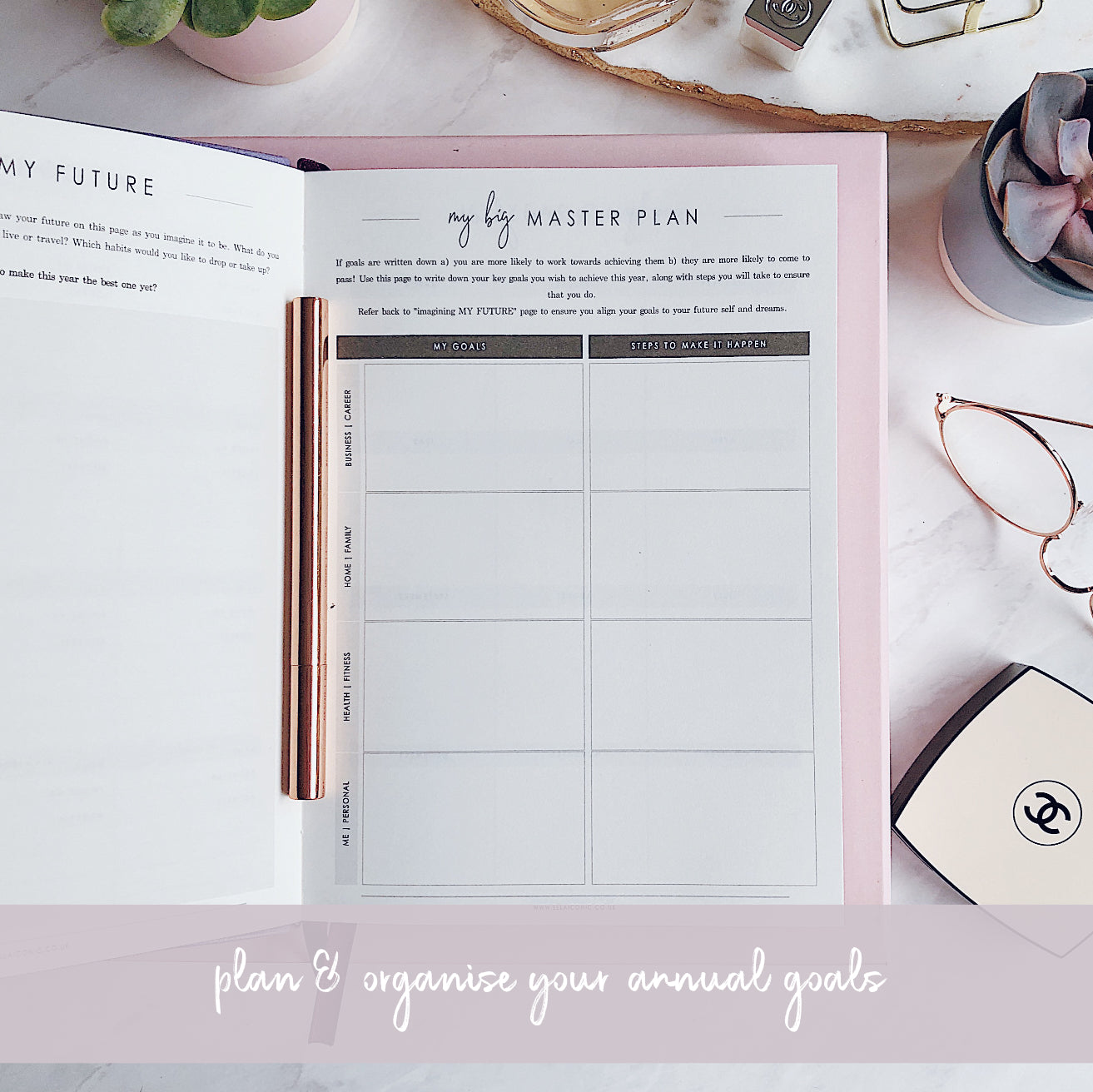 CEO OF MY OWN LIFE® Planner | Undated Weekly | Violet