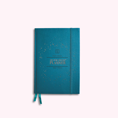 CEO OF MY OWN LIFE® Planner | Undated Weekly | Maxi Teal