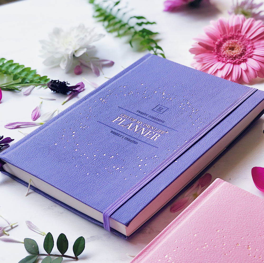 Undated Weekly CEO of My Own Life® Planner | Violet