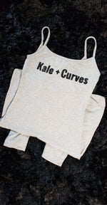 Kale + Curves Yoga Jumpsuit