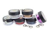complete set of cosmetic grade eye glitter