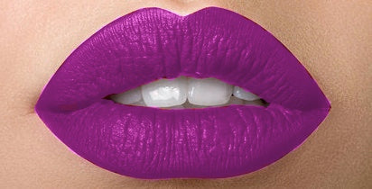 Purple Liquid Matte Long Lasting Lipstick for Crossdressers