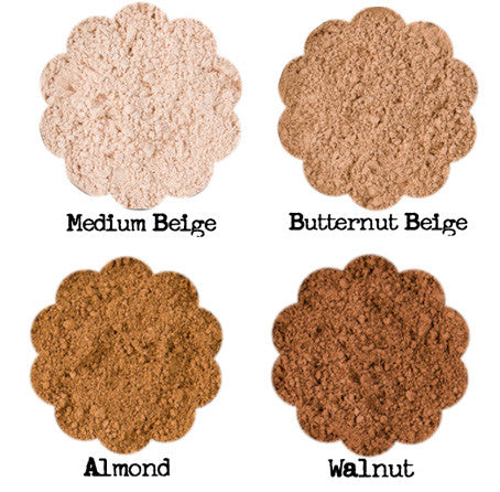face setting powder color swatches
