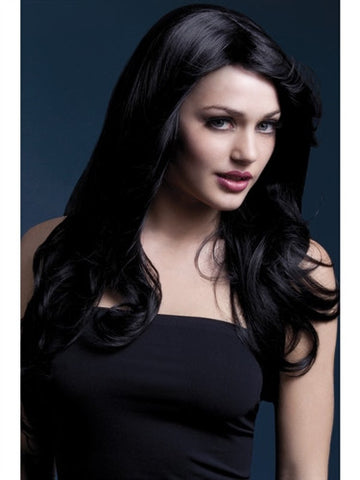 long black crossdressing wig for men