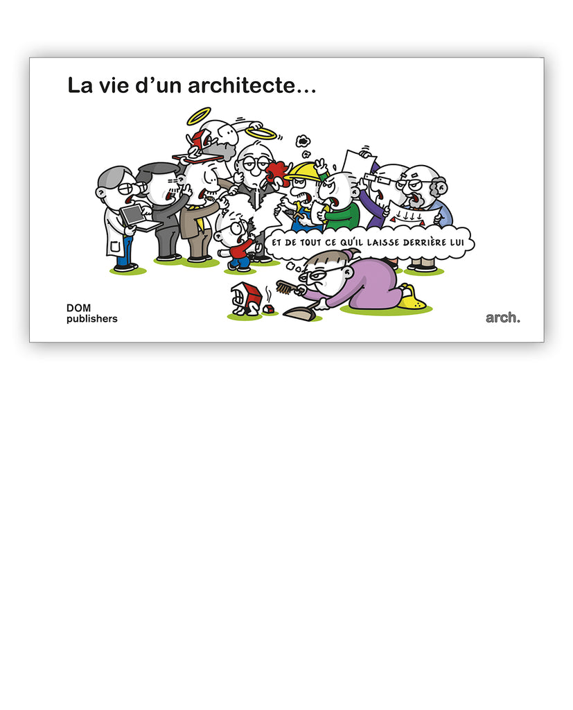 Comic: La vie d'un architecte