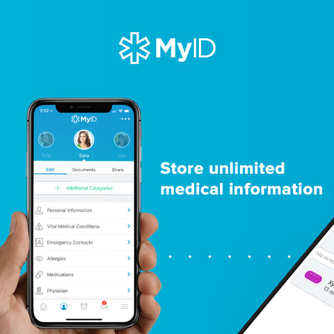 myid app medical id health records