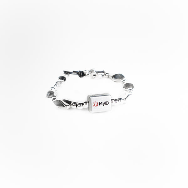 The Pebble MyID Medical ID Bracelet