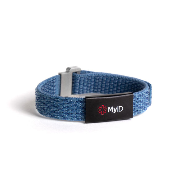 MyID Flex Nylon Medical ID Bracelet
