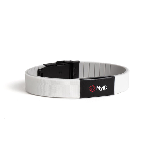 MyID Flex Silicone Medical ID Bracelet