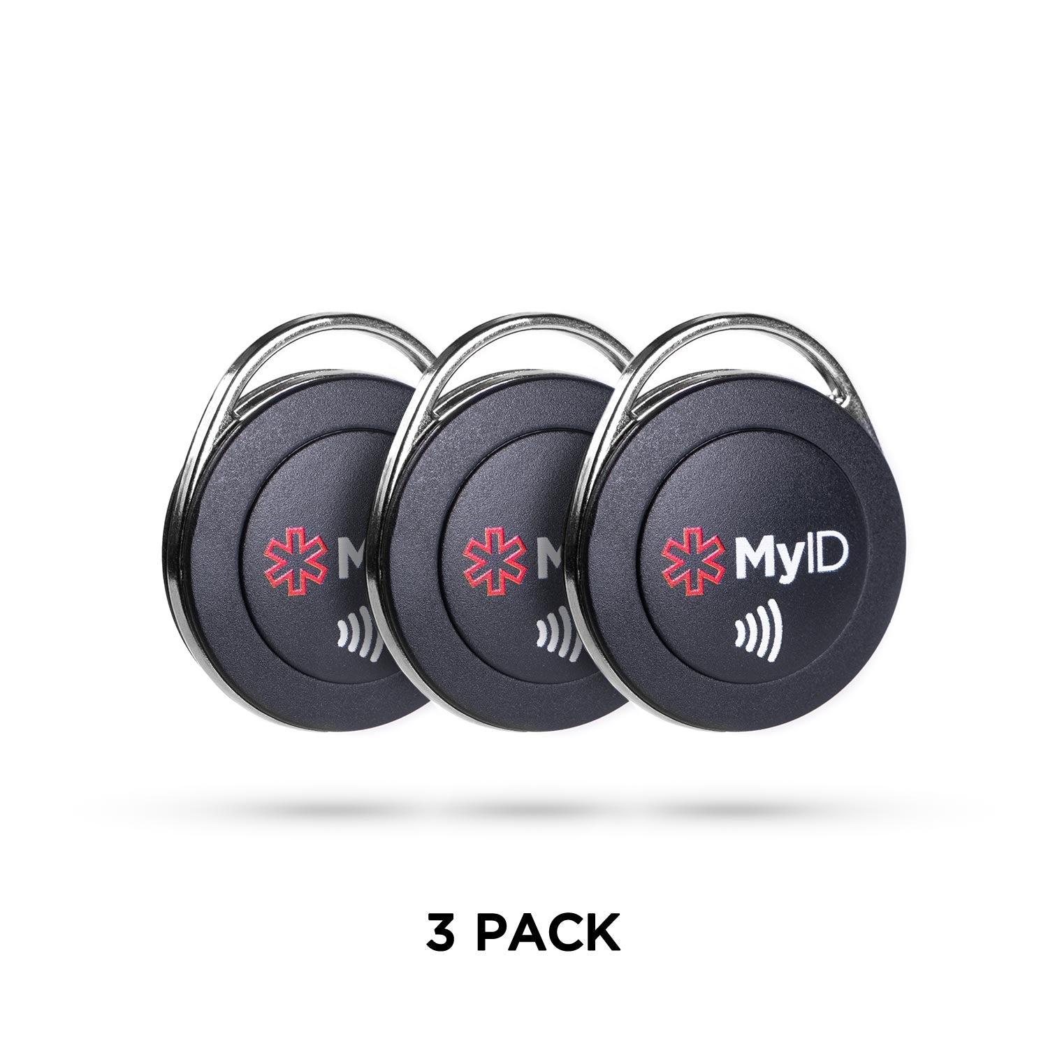 MyID Tag Medical ID – 3 Pack