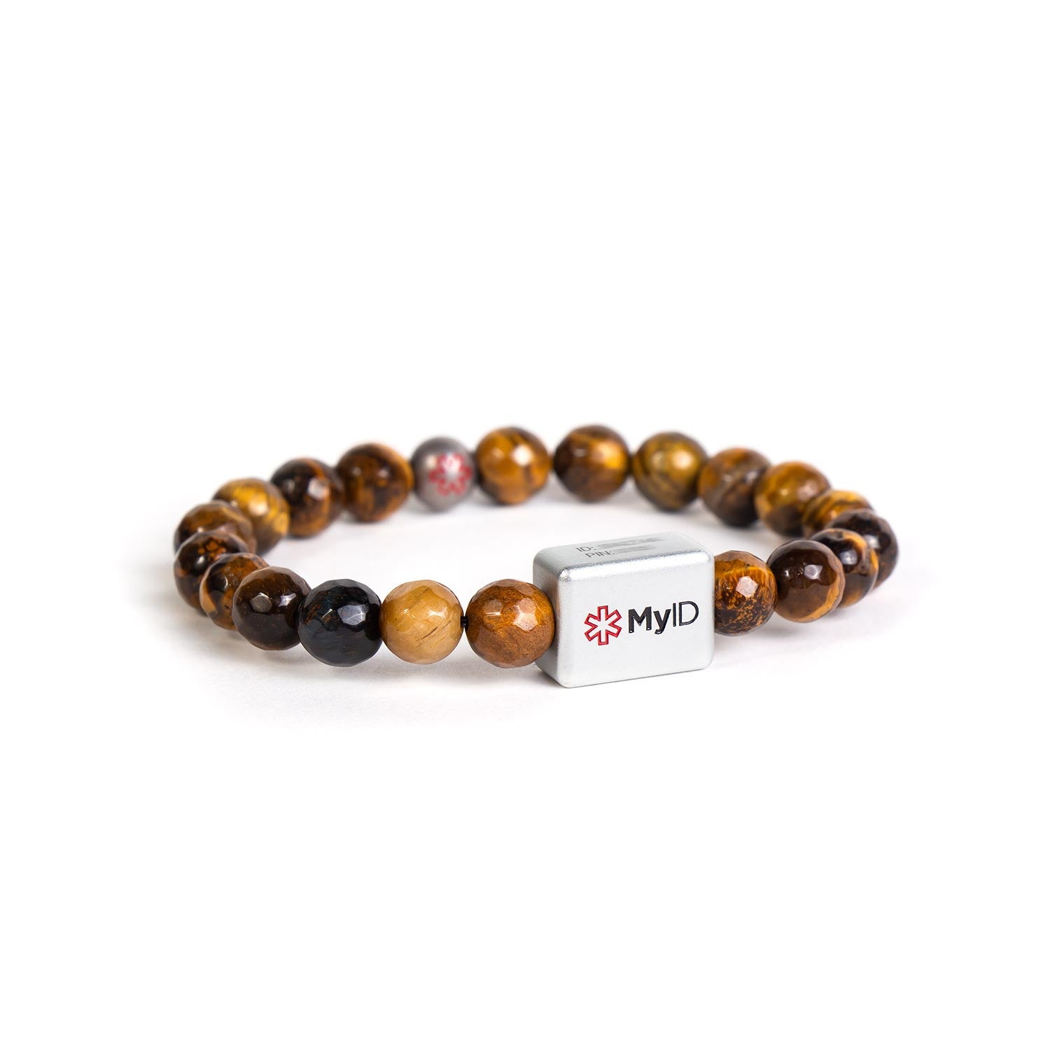 Tiger's Eye Medical ID Bracelet
