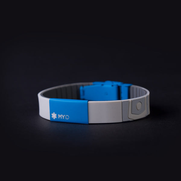 MyID Sleek Color Medical ID Band (Gen 2)
