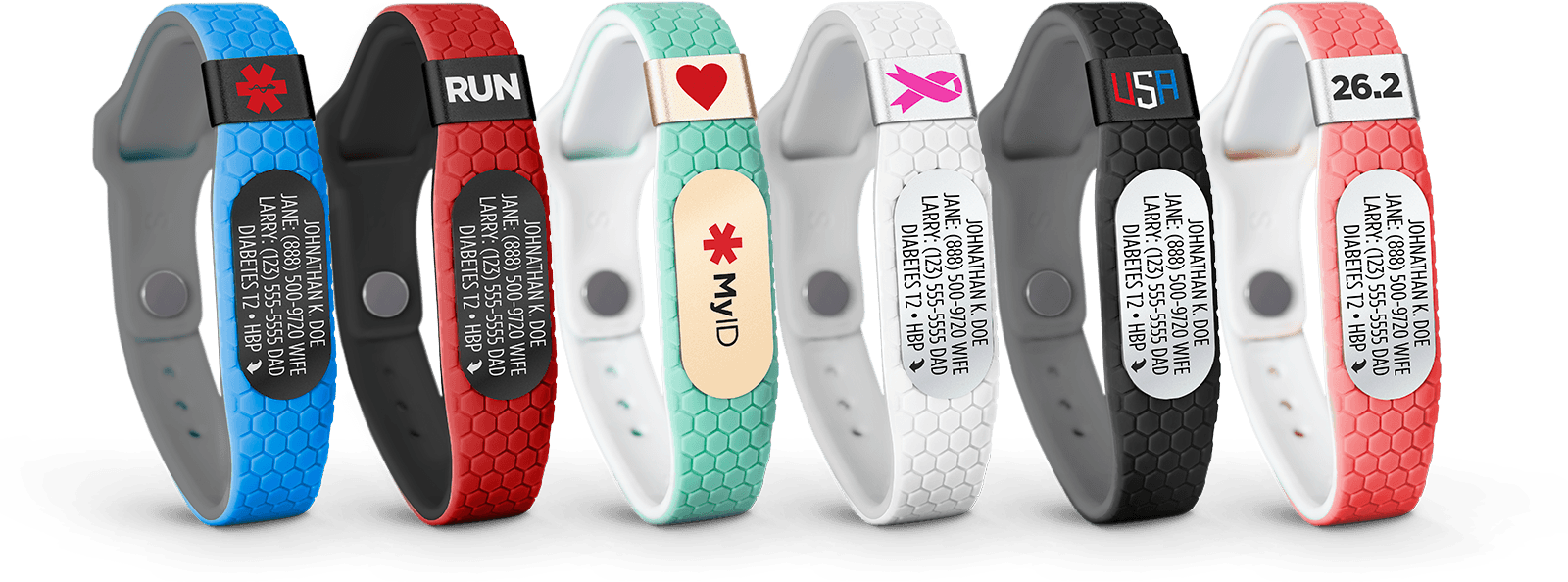 medical id diabetes bracelets customization