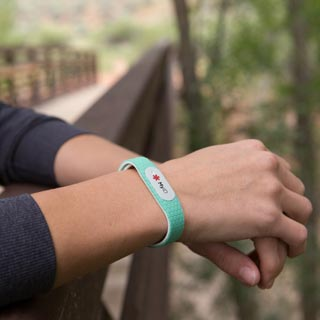 MyID medical ID hive bracelet